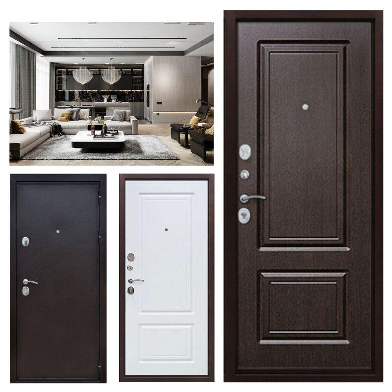 входные двери стандарт в дом